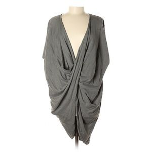 AllSaints Grey Twist Sweater